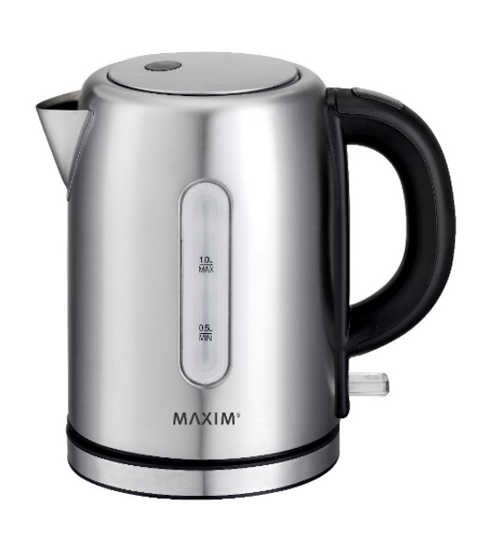 Maxim Kitchen Pro 1.0L Stainless Steel Kettle