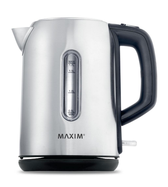 Maxim Kitchen Pro 1.7L Stainless Steel Kettle