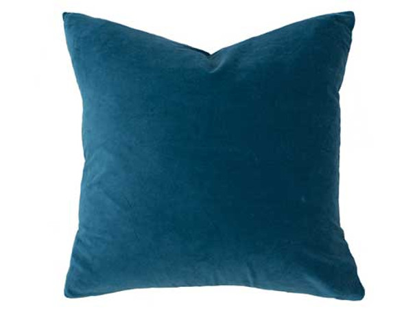 Velvet Feather Filled Cushion
