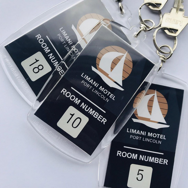 Large Super Strong Key Tag