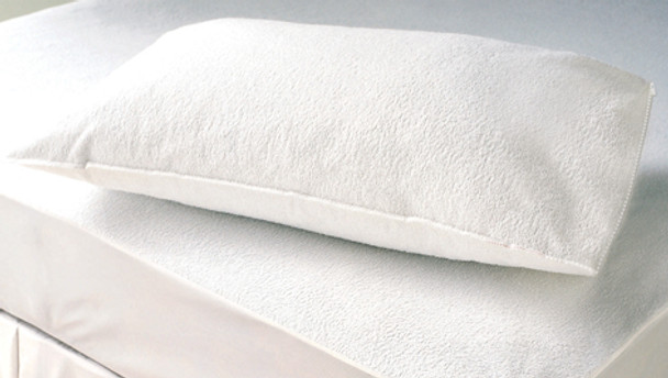 Terry Waterproof Mattress Protector - 60 Degree Wash