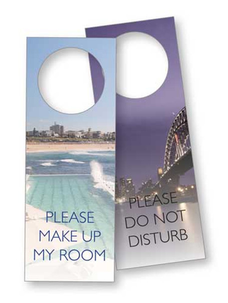 Sydney Laminated Door Sign