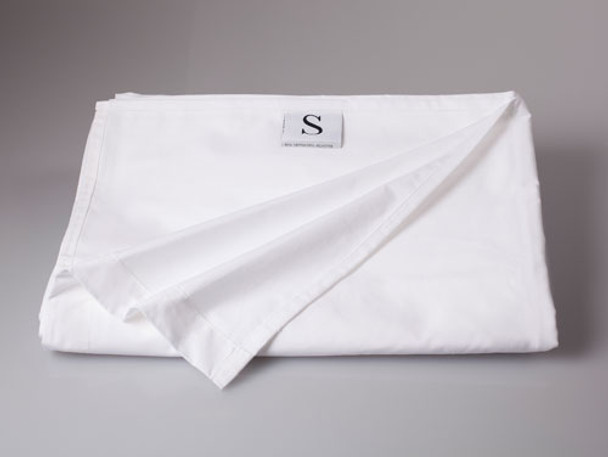 Commercial White Flat Sheets