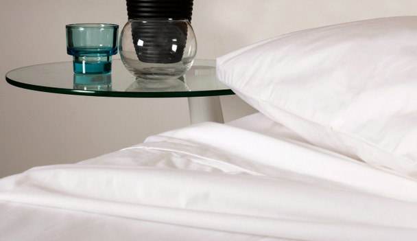 Commercial White Fitted Sheets