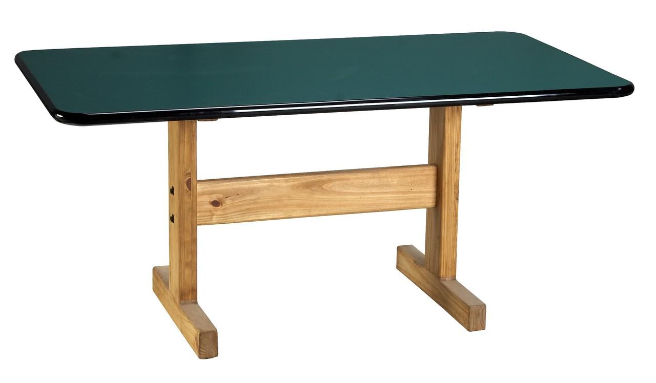 Classic Medium Laminate Top Dining Table