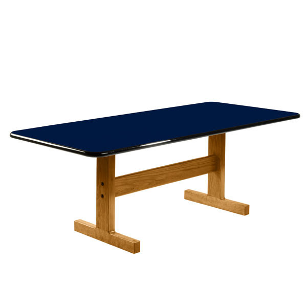 Classic Large Laminate Top Dining Table