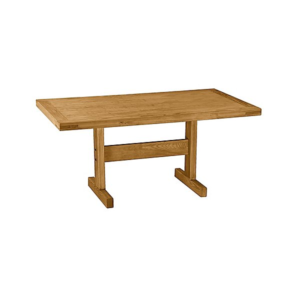 Classic Medium Solid Wood Dining Table