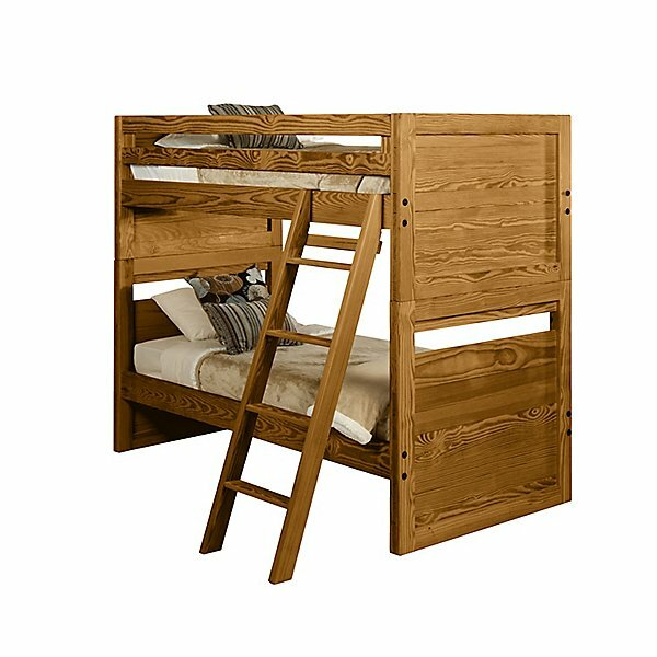 Classic Solid End Bunk Bed