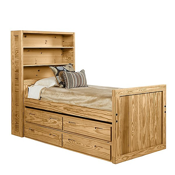 Classic Twin Cay Bed with Storage
