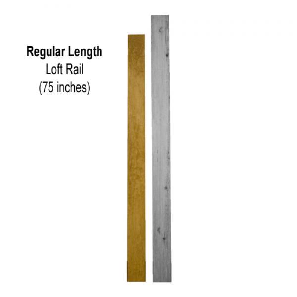 Regular Length Loft Rail