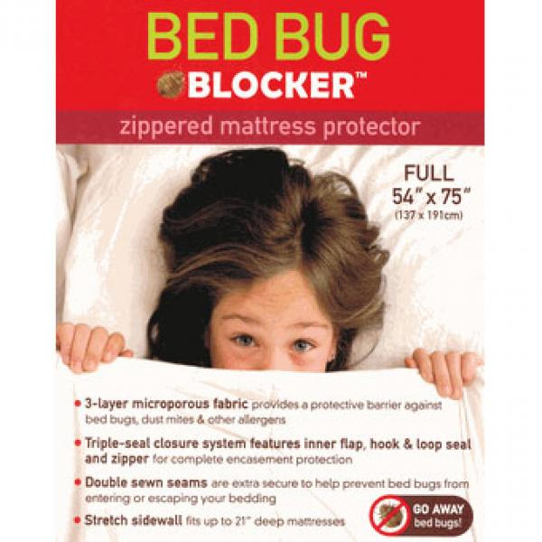 Bed Bug Blocker Zippered Mattress Protectors - Full