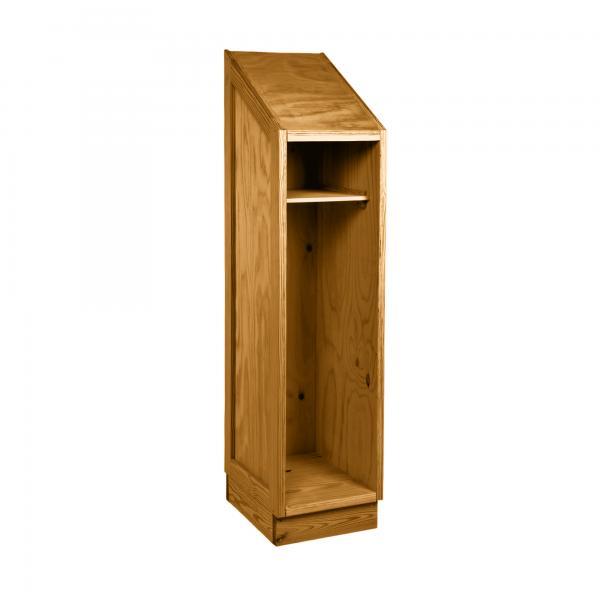 Safe & Tough Small Wardrobe - Shelf and break-away J Bar