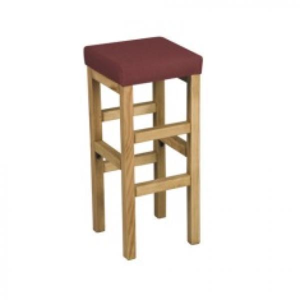 Classic Bar Stool w/Fabric Seat
