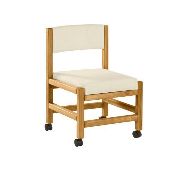Classic Side Chair w/Casters