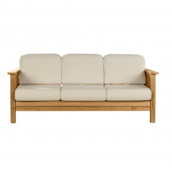 Cottage Sofa w/Overstuffed Backs