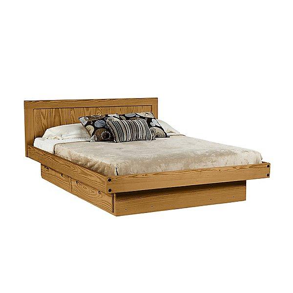 Classic Queen Platform Bed w/Storage
