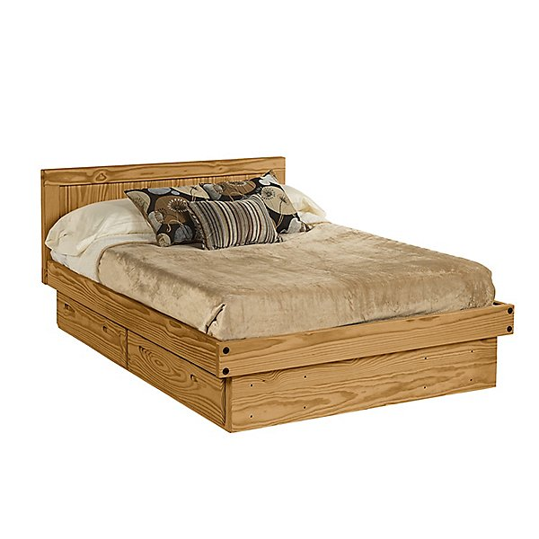 Classic Full Platform Bed w/Storage