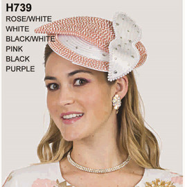 Lily and Taylor Fascinator H739
