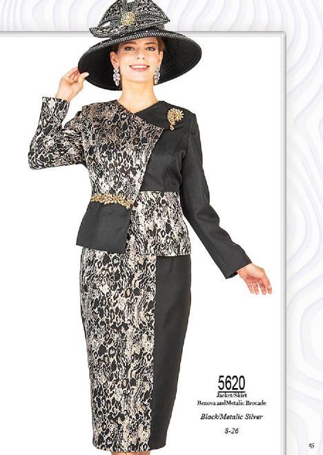 Champagne Italy 5620 Skirt Set