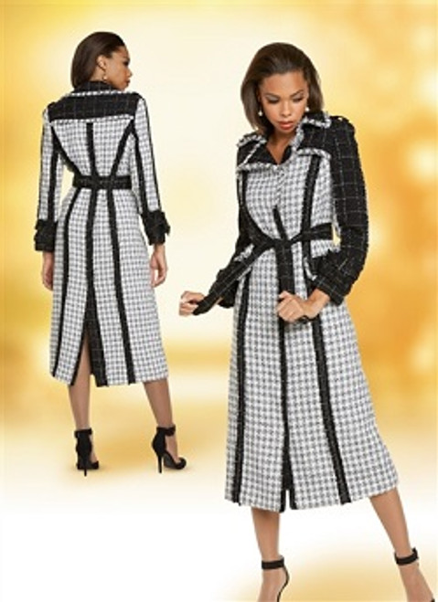 Donna Vinci 5712 Boucle Dress
