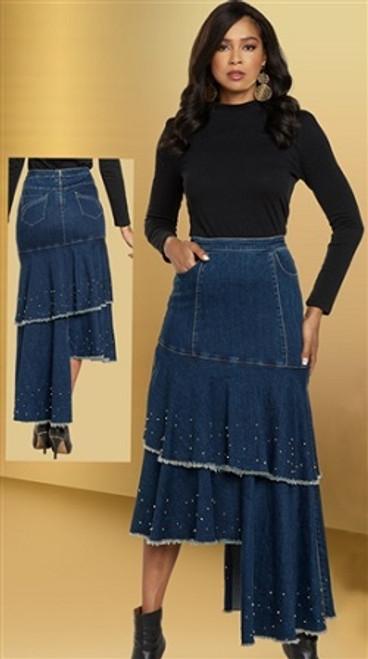 DV Jeans 8442 Denim Skirt