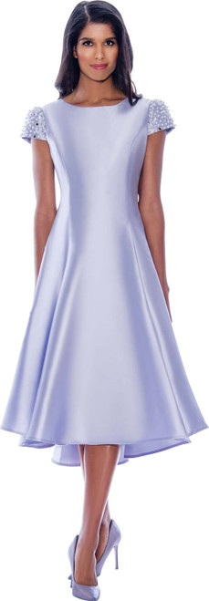 Dresses  By Nubiano DN2001 Dress - Lavender