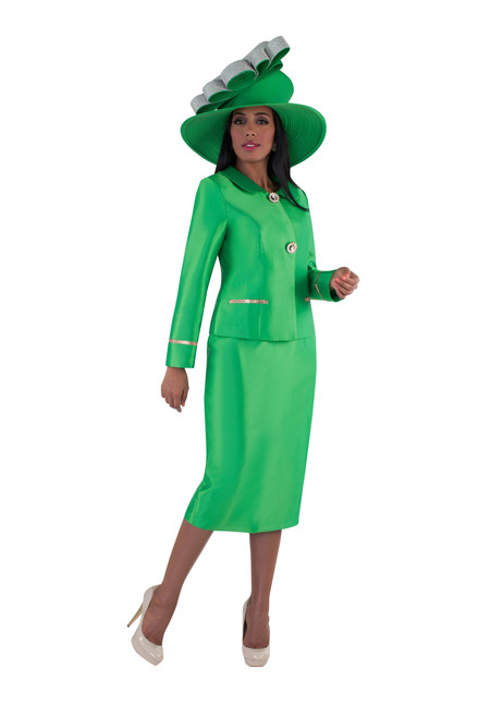 Tally Taylor 4660 2Pc Skirt Suit
