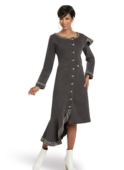 DV Jeans by Donna Vinci 8450 Dress