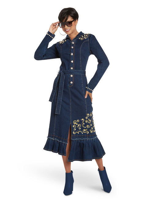 DV Jeans by Donna Vinci 8449 Dress