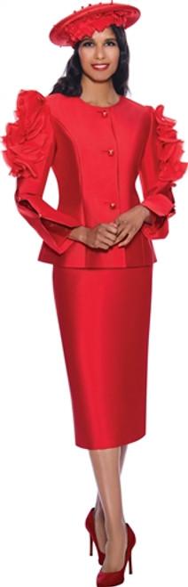 GMI 8712 Women Church Suit - Red