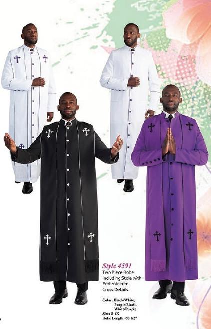 Tally Taylor 4591 Mens Clergy Robe