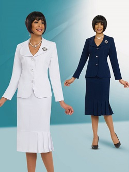 Stacy Adams 78095 Skirt Suit