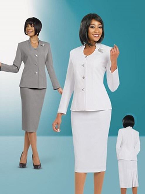Stacy Adams 78096 Skirt Suit