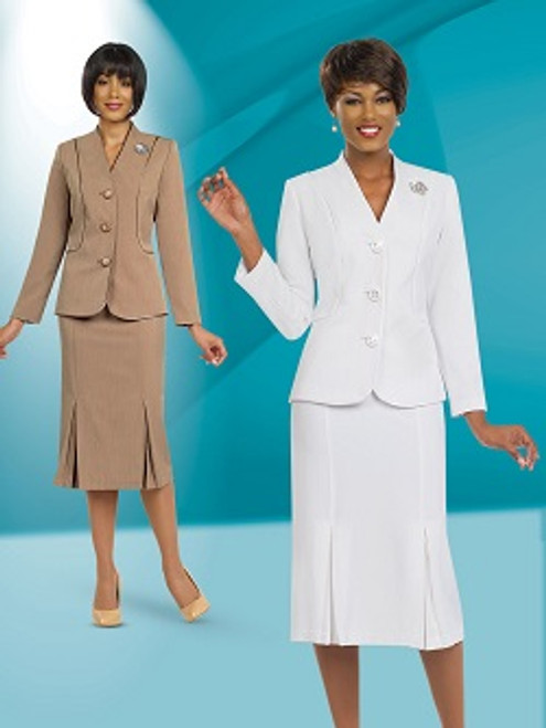 Stacy Adams 78098 Skirt Suit