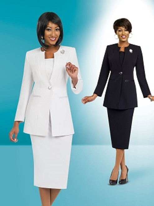Stacy Adam 78099 Skirt Suit