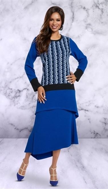 Donna By Donna Vinci 18158 Skirt Set
