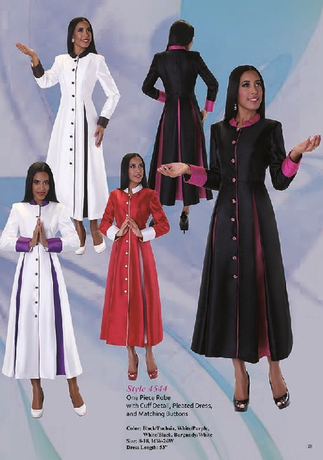 Tally Taylor 4544 Women Clergy Robe