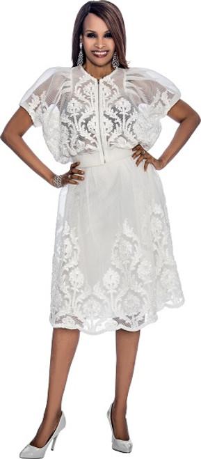 Susanna 3798 Skirt Suit - Ivory