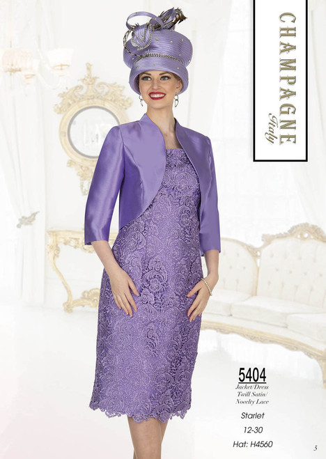 Aussie Austine 5404 2Pc Dress Set