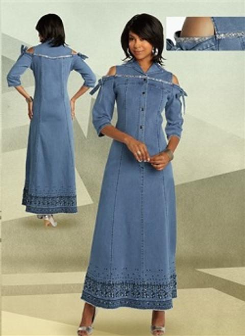 DV Jeans 8435 Denim Dress