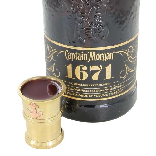 Brass Captains Privateer Shot Glass