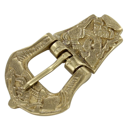 Viking Age Brass Medieval Buckle
