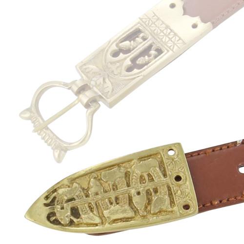 Viking Serpent of the Seas Medieval Belt Chape