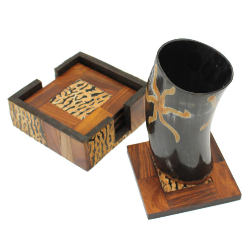 Earth Essence Drinking Horn Dining Hall Tumbler