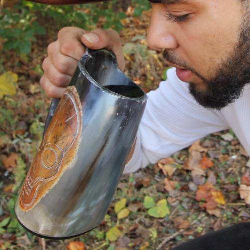 First Mates Finest Horn Pirate Tankard Mug