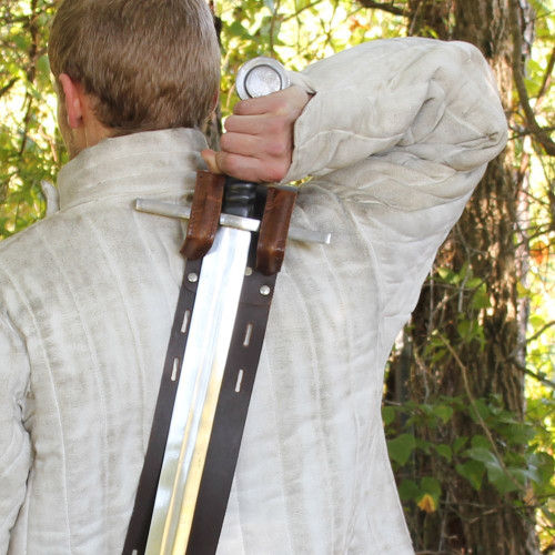 Cheshire Knight's Authentic Leather Baldric