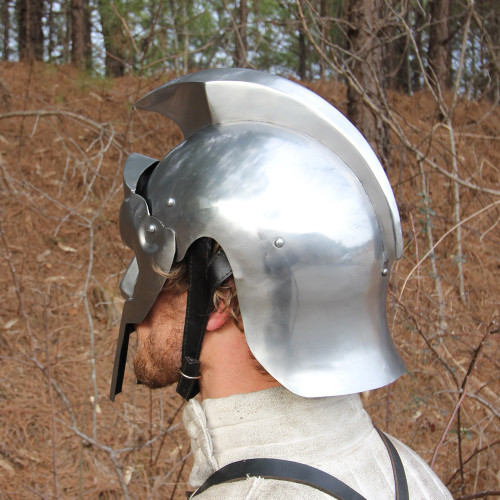Rhino Armor Gladiator Steel Functional Helmet