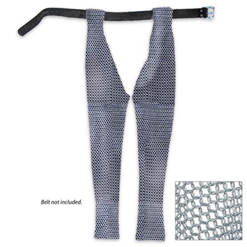 Medieval Knights Battle Chausses Chain Mail Leggings