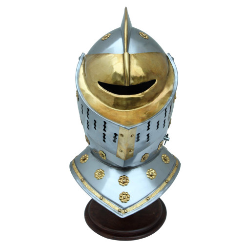 Helm's Gates Golden Knight Steel Helmet