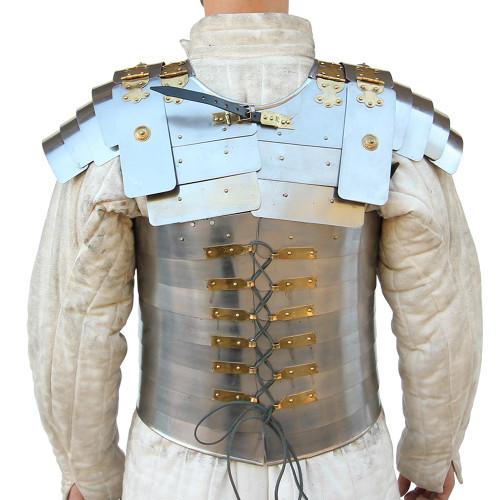 Roman Soldier Military Lorica Segmentata Body Armor